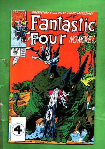 Fantastic Four Vol 1 #345 Oct 90