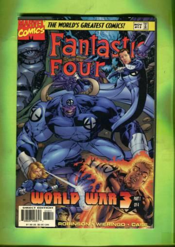 Fantastic Four Vol 2 #13 /Nov 97