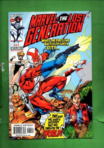 Marvel: The Lost Generation Vol. 1 #11 Apr 00