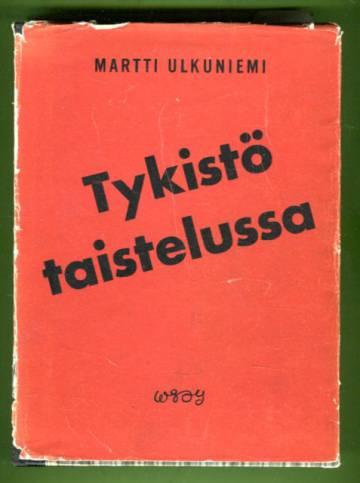 Tykistö taistelussa - Patterinpäällikön muistelmia kevyen patteriston vaiheista 1939-40 / 1941-44
