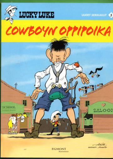 Lucky Luke uudet seikkailut 5 - Cowboyn oppipoika