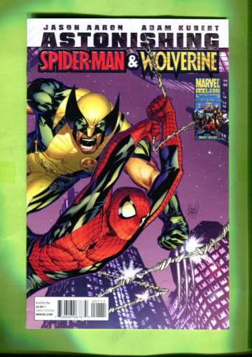 Astonishing Spider-Man & Wolverine #1 Jul 10