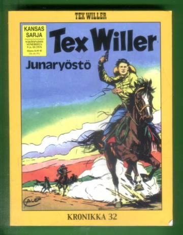 Tex Willer -kronikka 32 - Junaryöstö & Viides mies