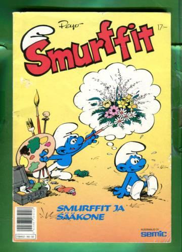 Smurffit 2/90 - Smurffit ja sääkone