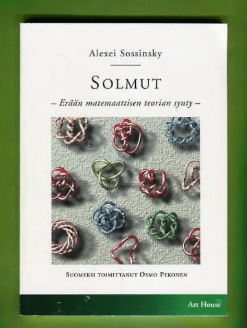 Solmut - Erään matemaattisen teorian synty