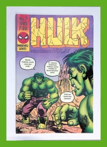 Hulk 7/85