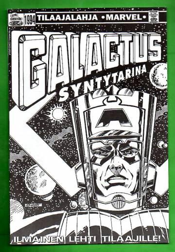Marvel tilaajalahja 1994 - Galactus syntytarina