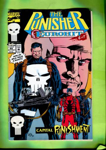 Punisher Vol. 2 #69 Early Sep 92