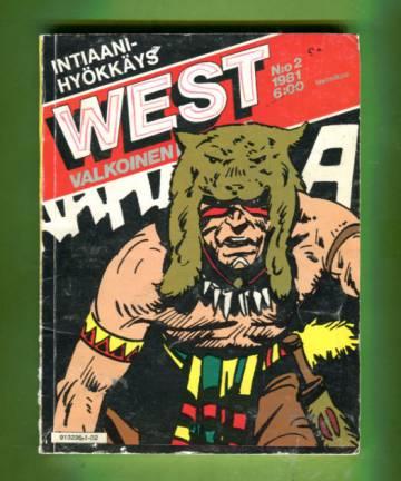 West - Valkoinen intiaani 2/81 - Intiaanihyökkäys