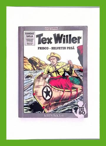 Tex Willer -kronikka 6 - Frisco - Helvetin pesä & Comanchit ja kiväärit