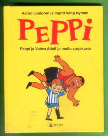 Peppi ja Vahva Adolf ja muita sarjakuvia (Peppi Pitkätossu)