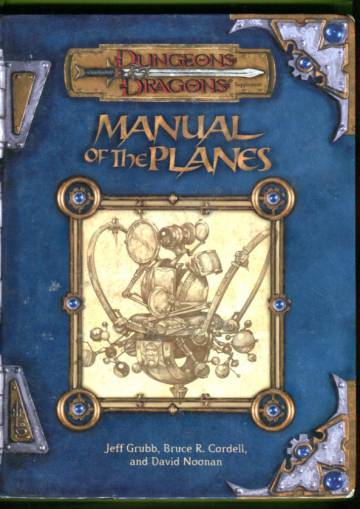 Dungeons & Dragons - Manual of the Planes