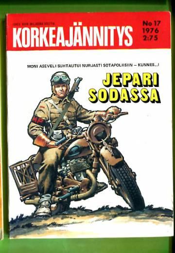 Korkeajännitys 17/76 - Jepari sodassa