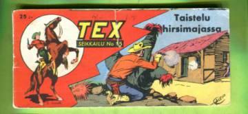Tex 15/57 - Taistelu hirsimajassa (Tex Willer, 5. vuosikerta)