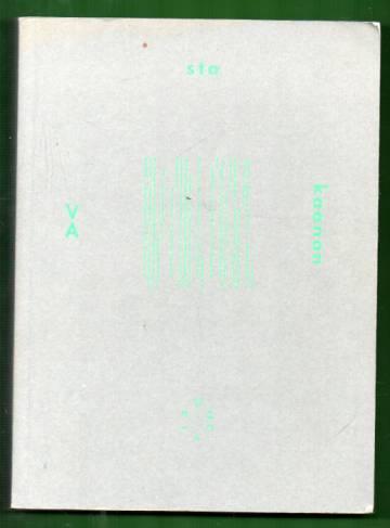 Vastakaanon - Suomalainen kokeellinen runous 2000-2010