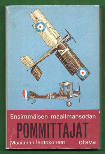 Ensimmäisen maailmansodan pommittajat sekä partio- ja tiedustelukoneet