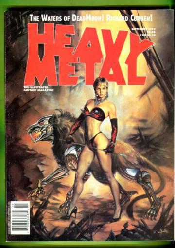Heavy Metal Vol XVII #3 Sep 92