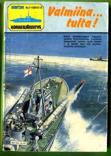 Merten Korkeajännitys 7/86 - Valmiina... tulta!