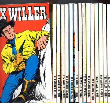 Tex Willer -vuosikerta 1985 (1-16)