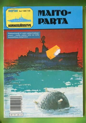 Merten Korkeajännitys 7/89 - Maitoparta
