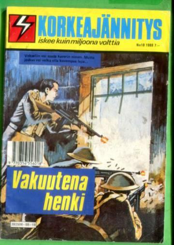 Korkeajännitys 18/88 - Vakuutena henki