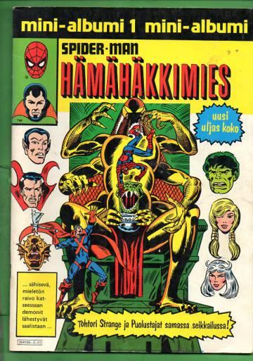 Hämähäkkimies-mini-albumi 1 - Hämähäkkimies ja Manaaja: Lukit ja luikertajat (Spider-Man)