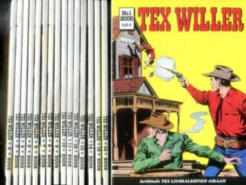 Tex Willer -vuosikerta 2008 (1-16)
