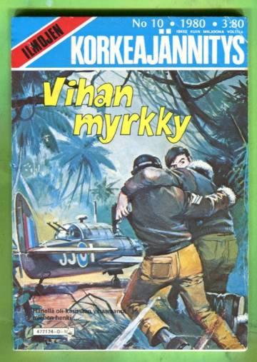 Ilmojen Korkeajännitys 10/80 - Vihan myrkky