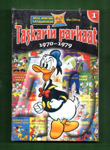 Aku Ankka - Taskarin parhaat 1: 1970-1979 (Aku Ankan taskukirja)