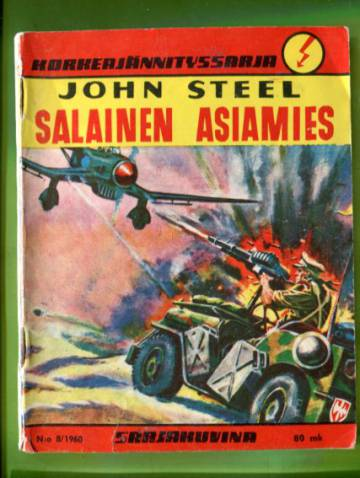 Korkeajännityssarja 8/60 - John Steel: Salainen asiamies
