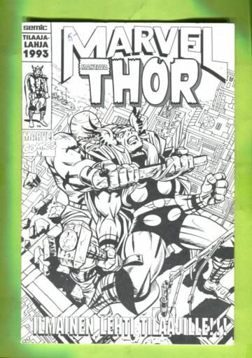 Marvel-tilaajalahja 1993 - Mahtava Thor