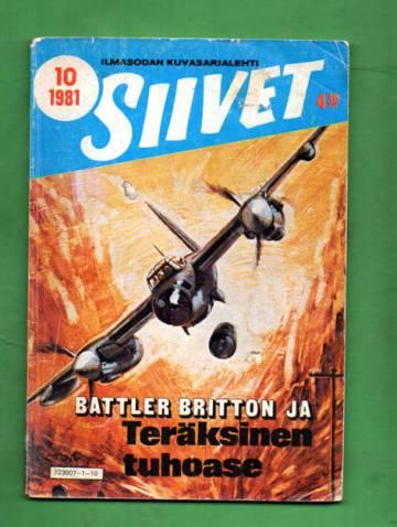 Siivet 10/81 - Battler Britton ja teräksinen tuhoase