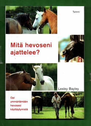 Mitä hevoseni ajattelee?