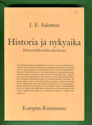 Historia ja nykyaika - Historianfilosofian ääriviivoja