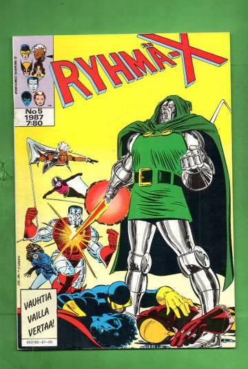 Ryhmä-X 5/87 (X-Men)