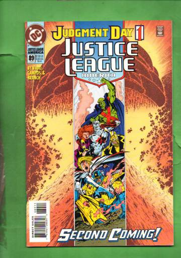 Justice League America #89 Jun 94