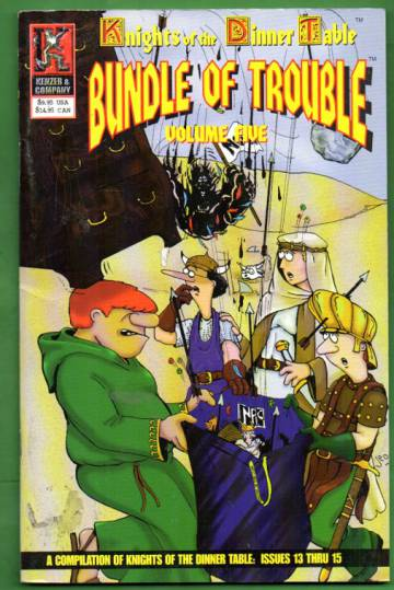Knights of the Dinner Table: Bundle of Trouble - Volume 4
