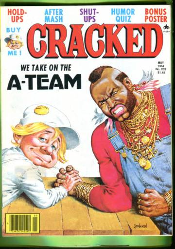 Cracked #203 May 84