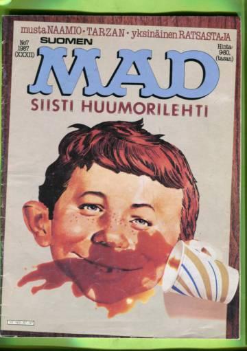 Suomen Mad 7/87