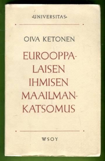 Eurooppalaisen ihmisen maailmankatsomus