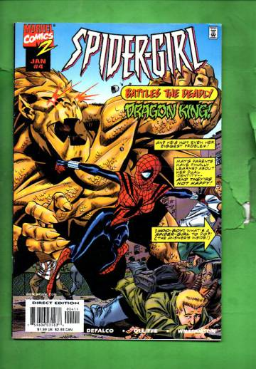 Spider-Girl Vol. 1 #4 Jan 99