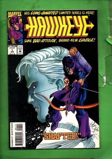 Hawkeye Vol. 2 #1 Jan 94