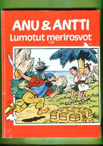 Anu & Antti 1/83 - Lumotut merirosvot