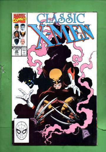 Classic X-Men Vol. 1 #45 Mar 90