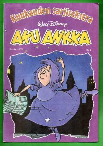 Aku Ankka - Kuukauden sarjisekstra 10: Helmikuu 2000