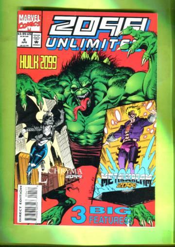 2099 Unlimited Vol 1 #4 Apr 94