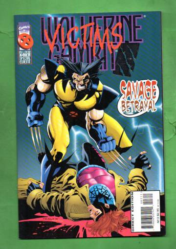 Wolverine/Gambit: Victims Vol. 1 #3 Nov 95
