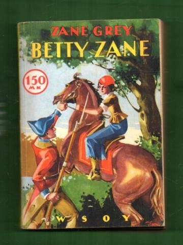 Betty Zane - Seikkailukertomus Pohjois-Amerikasta intiaanisotien ajalta (Riksin sarja 26)