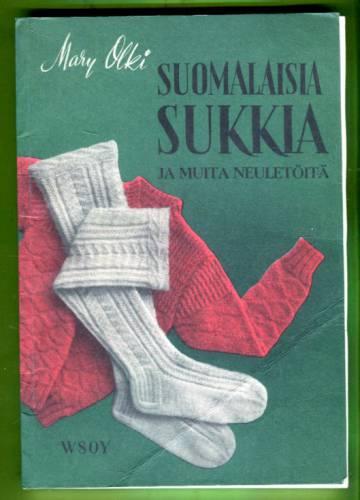 Suomalaisia sukkia ja muita neuletöitä
