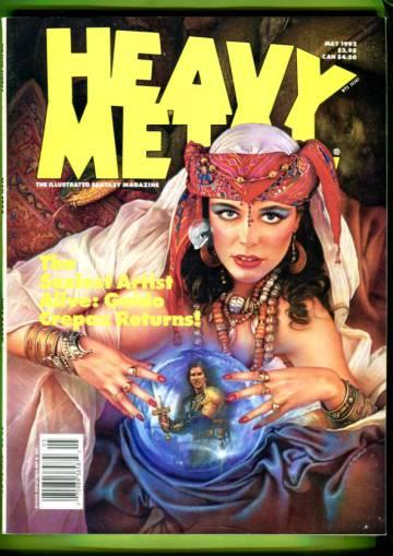 Heavy Metal Vol. XVI #1 May 92